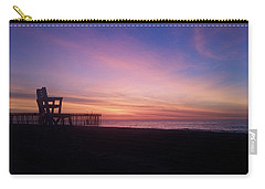 Inlet Beach At Dawn Carry-all Pouch by Robert Banach