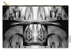 Carry-all Pouch featuring the digital art Inner Dimensions by Lynda Lehmann