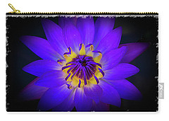 Carry-all Pouch featuring the photograph Inner Glow by Keith Hawley
