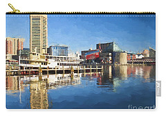 Inner Harbor Reflections  Carry-all Pouch