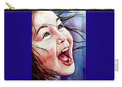 Carry-all Pouch featuring the painting Inner Radiance by Michal Madison