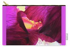 Inner Sanctum - Iris Macro Carry-all Pouch by Brooks Garten Hauschild