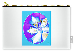 Inner Tulip Abstract 1 Carry-all Pouch by Will Borden