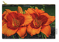 Carry-all Pouch featuring the photograph Innocent Fire by Judy Vincent