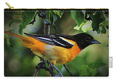 Inquisitive Oriole Carry-all Pouch