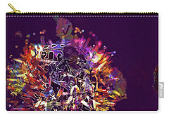 Carry-all Pouch featuring the digital art Insect Bug Bee Beetle  by PixBreak Art