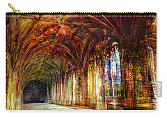 Carry-all Pouch featuring the photograph Inside 2 - Transit by Alfredo Gonzalez