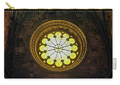 Carry-all Pouch featuring the photograph Inside Jeronimos by Carlos Caetano