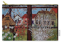 Inside Looking Out Carry-all Pouch by Mike Caitham