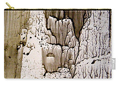 Carry-all Pouch featuring the painting Inside The Cave by Nancy Kane Chapman