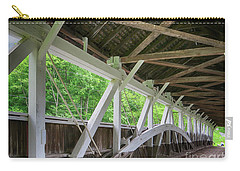 Inside The Covered Bridge Carry-all Pouch