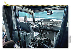 Inside The Etna Tour Unimog Carry-all Pouch by Patrick Boening