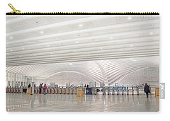 Inside The Oculus - New York City's Financial District Carry-all Pouch