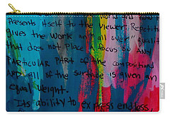 Inspiration From Warhol Carry-all Pouch