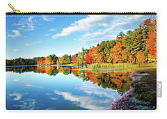 Carry-all Pouch featuring the photograph Inspiration by Greg Fortier