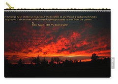 Carry-all Pouch featuring the photograph Inspiration by Joyce Dickens