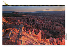 Carry-all Pouch featuring the photograph Inspiration Point by Edgars Erglis