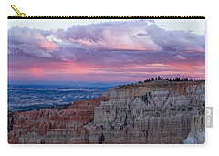 Carry-all Pouch featuring the photograph Inspiration Point Sunset by Patricia Davidson