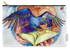 Inspiration Spreads Its Wings Carry-all Pouch