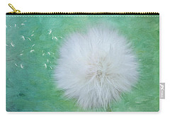 Inspirational Art - Some See A Wish Carry-all Pouch by Jordan Blackstone