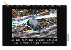 Inspirational-be The Rock Carry-all Pouch