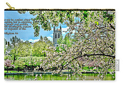 Inspirational - Cherry Blossoms Carry-all Pouch