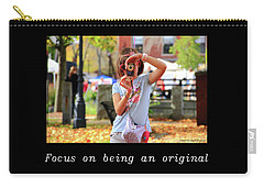 Inspirational- Focus Carry-all Pouch