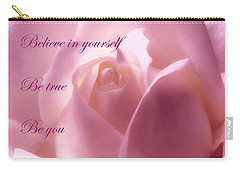 Inspirational Rose Carry-all Pouch