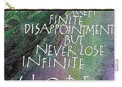 Inspirational Saying Hope Carry-all Pouch