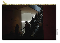 Inspired #2  Escalator Silhouettes Carry-all Pouch
