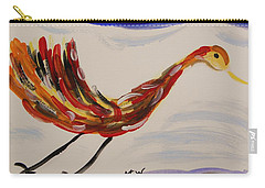 Inspired By Calder's Only Only Bird Carry-all Pouch