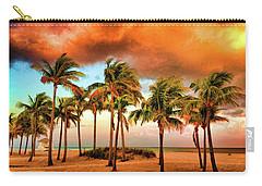 Crandon Park Beach Carry-all Pouch