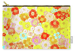 Inspired By Persimmon Carry-all Pouch by Lorna Maza