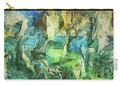 Inspired By Roberto Matta Carry-all Pouch