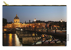 Carry-all Pouch featuring the photograph Institute Of France by Andrew Fare