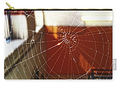Carry-all Pouch featuring the photograph Intact Abandonment by Robert Knight