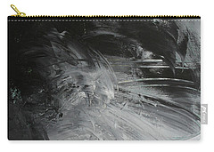 Carry-all Pouch featuring the painting Intelligent Answers by Robin Maria Pedrero