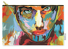 Intense Face 2 Carry-all Pouch