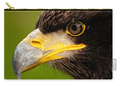 Intense Gaze Of A Golden Eagle Carry-all Pouch
