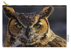 Intense Owl Carry-all Pouch