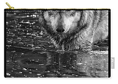 Carry-all Pouch featuring the photograph Intense Reflection by Shari Jardina