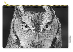 Carry-all Pouch featuring the photograph Intense Stare by Richard Bryce and Family