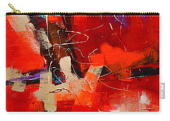 Intensity - Art By Elise Palmigiani Carry-all Pouch by Elise Palmigiani