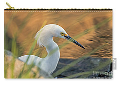 Carry-all Pouch featuring the photograph Intent Hunter by Kate Brown