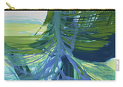 Carry-all Pouch featuring the painting Intercession by Kate Word
