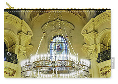 Interior Evening View Of St. Nicholas Church In Prague Carry-all Pouch