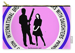 International Brotherhood Of Fathers With Daughters Carry-all Pouch