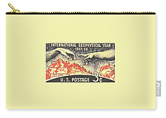 International Geophysical Year Stamp Carry-all Pouch