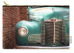 Carry-all Pouch featuring the photograph International Truck 2 by Heidi Hermes