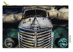 Carry-all Pouch featuring the photograph International Truck 6 by Michael Arend